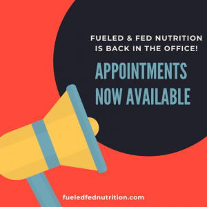 Appointments now available